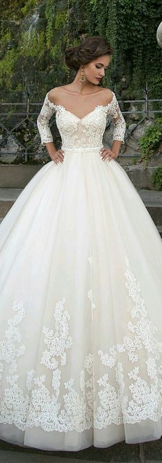 Bride's outfit