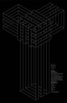 Michael Bierut, Kerrie Powell & Sunnie Guglielmo. Open House, 2001. Design for the Yale School of Architecture.
