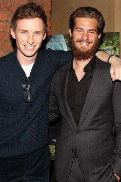 Andrew Garfield & Eddie Redmayne