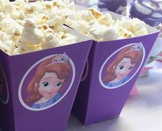 Mini Kit para Cumpleaños de la Princesa Sofía para Imprimir Gratis.