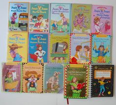 Junie B Jones Books 15 Series Survival Guide to School Barbara Park Soft/Hardcvr. Love this.