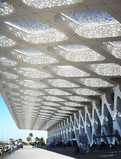 Marrakech-Menara Airport Extension, E2A Architecture Marrakech, Modern Architecture, Journey, Exterior, The Originals, Travelling, Commercial, Modernism, The Journey