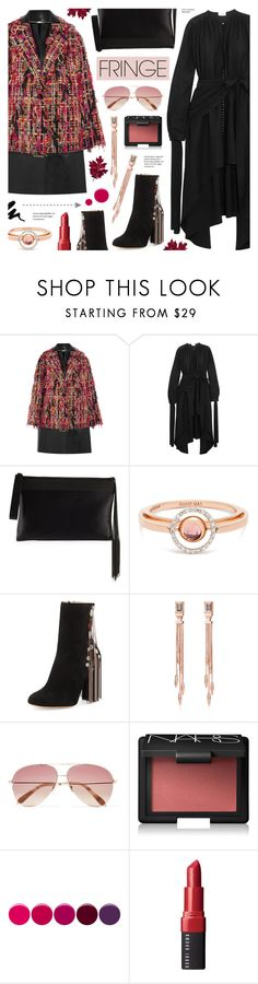 """""""Shimmy Shimmy: Fringe - Fall Style"""" by anyasdesigns ❤ liked on Polyvore featuring Alexander McQueen, Magda Butrym, Brunello Cucinelli, Marie Mas, Chloé, Monica Vinader, Victoria Beckham, NARS Cosmetics, Deborah Lippmann and Bobbi Brown Cosmetics"""