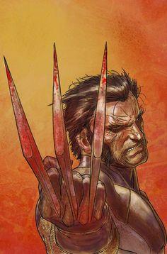 X-Men Wallpaper: Wolverine Marvel Wolverine, Marvel Comics, Wolverine Claws, Logan Wolverine, Marvel Comic Books, Marvel Art, Comic Book Characters, Marvel Characters, Comic Character