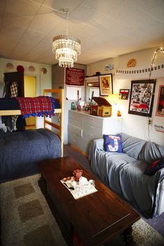 omg i like how this room is laid out! @ Seattle Pacific University