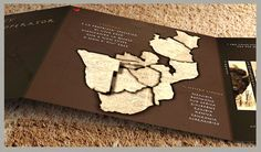 iLoveafrica 3d Business cards (Areas)