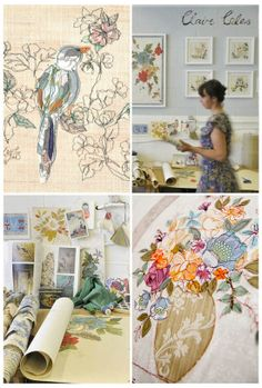Creative Sketchbook: Machine Stitched Marvels by Claire Coles - Stitching Projects Free Motion Embroidery, Free Machine Embroidery, Embroidery Art, Stitch Pictures, Thread Painting, A Level Art, Vintage Theme, Machine Design, Textile Artists