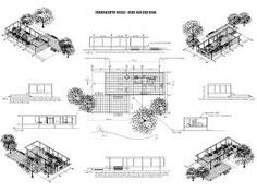 Image result for mies van der rohe farnsworth house structure