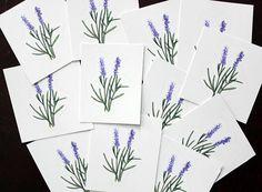 Lavender Vinyl Die Cut Sticker
