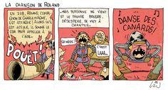 uzunagaz: La chanson paillarde de Roland Short Stories, Peanuts Comics, Comic Books, Europe, Cartoons, Comics, Comic Book, Graphic Novels, Comic