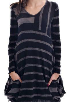 Robe tunique rayée Et Compagnie - L'Amazone-store.com