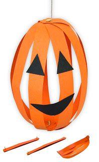Art Projects for Kids: Make a Paper Pumpkin