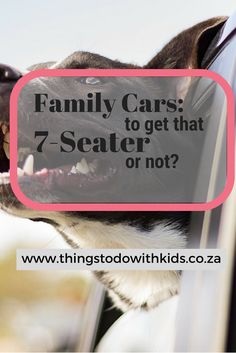 A car review for 7-seater family cars.