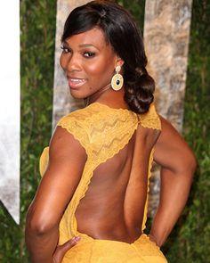 Serena Williams South Gates Roads to Center Folds Paradise $plit Ends