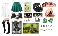 """creepypasta (Oc)"" by ironically-a-strider21 ❤ liked on Polyvore featuring GAS Jeans, LE3NO and Converse"