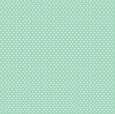 Serenity Fabric Collection - White Polka Dots on Mint Green Fabric by FabScraps Fabrics - Listed by the Half Yard by RealStitchersofTexas on Etsy