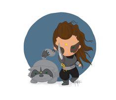Lexa and Lexacoon are ready to fight! #Clexa #Lexa #Heda