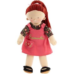 North American Bear Rosy Cheeks Big Sister Redhead - Free Shipping Have to get this adorable stuffed soft doll with red hair for my little red headed princess!  #yoyobirthday