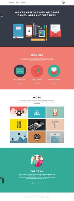 5組優秀單頁式設計作品集網站 » ㄇㄞˋ點子靈感創意誌