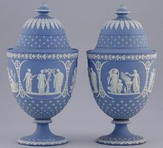 Wedgwood Blue Jasperware | AntiqForum - Wedgwood - Blue Jasperware Price Guide