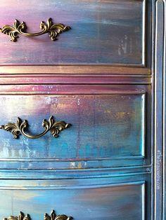 Gorgeous French Provincial Dresser #paintedfurniture #Affiliate