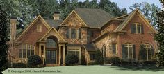 Browse nearly ready-made house plans to find your dream home today. Floor plans can be easily modified by our in-house designers. 4000 Sq Ft House Plans, Two Story House Plans, House Floor Plans, Country Style House Plans, Country Style Homes, European House, European Style, Luxury House Plans, My Dream Home