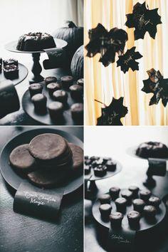 Not so heavenly dark chocolate spread fabulous idea - Black and white food ideas ...