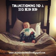 Mama & Mister: Transitioning To A Big Kid Bed Toddler Fun, Toddler Activities, Toddler Stuff, Kid Stuff, Our Baby, Baby Love, Big Kids, Little Boys, Dyi