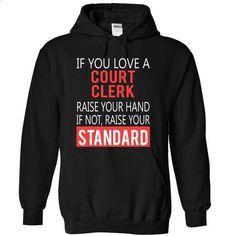 COURT CLERK- awesome - #cute shirt #hoodies womens. ORDER HERE => https://www.sunfrog.com/Jobs/COURT-CLERK-awesome-9911-Black-5707580-Hoodie.html?68278
