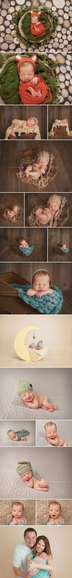 This newborn photo session by Jennifer Hosking Photography is so stunning! Of course the little fox baby caught our eye, but the focus, light and perspective kept us looking. Beautiful!