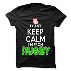 Awesome Tee Keep Calm Rugby... Christmas Time - 99 Cool City Shirt ! T-Shirts