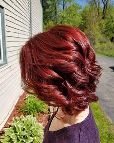 Red Hair Color Ion Brilliance 4ir 6r Ionhaircolor Hairbylysa
