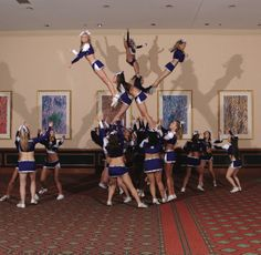 Look closely... This is a great group stunt. Lots of difficulty #thingsweloveatspiritaccessories