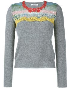 VALENTINO | Sweater with Fusion Lace