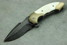 Todd Fischer Custom Arc Angel Flipper Knife