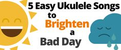 Looking for a pick me up? Music teacher Willy M. put this great list of easy ukulele songs together that are sure to turn your frown upside down… I've had bad days; you've had bad days, it se…