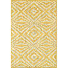 Catalina Yellow Indoor/Outdoor Area Rug
