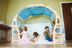Kids Market, Play Market, Dollhouse Toys, Dollhouse Furniture, Creative Toys For Kids, Eco Friendly Toys, Building For Kids, Wooden Shelves, Play Houses