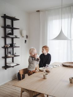 Bamboo is a fast-growing grass that's light and strong. The couple behind Oslo kitchen design firm Ask og Eng show its application in their own home. Installing French Doors, Ikea Kitchen Cabinets, Cabinet Fronts, Beach Kitchens, Shelving Design, Kitchen Views, Pine Floors, Modern Style Homes, Custom Kitchens
