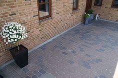 Utemiljøgrossisten as IBF Holmegaard tromlet brunmix Decor, Outdoor Decor, Tile Floor, Home Decor, Flooring