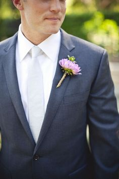 groom- need to bring the light grey tie idea up to nick..instead of grey suits