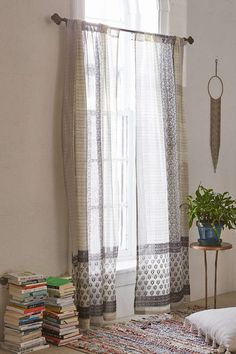 Plum & Bow Thalia Sari Window Curtain - Urban Outfitters