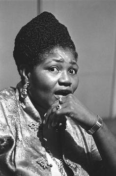 """Willie Mae """"Big Mama"""" Thornton, San Francisco, 1968"""