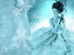Ice Queen - Digital Art Ice Queen, Disney Characters, Fictional Characters, Digital Art, Disney Princess, Fantasy Characters, Disney Princesses, Disney Princes, Snow Queen