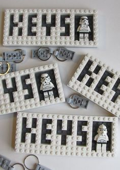 Wall mounted Star Wars LEGO Key Holder with Valet Key
