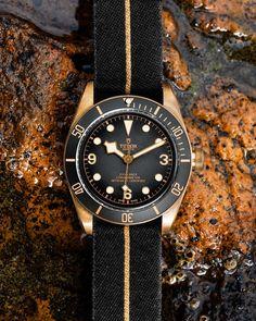 Tudor Black Bay Bronze, Rolex, Watches, Fabric, Accessories, Instagram, Gallery, Tejido, Tela