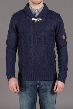 BellField Shawl Collar Sweater//