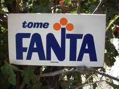 Antiguo Anuncio De Lamina Fanta Publicidad Antigua -- Baul R - $ 950.00 en Mercado Libre