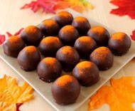 Pumpkin Chocolate Truffles