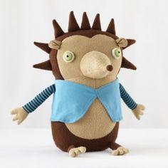 $50 Hedgehog Dad Cotton Monster  | Crate and Barrel